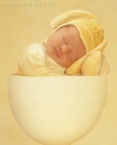 Easter Baby Egg