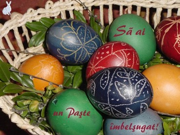 I wish a happy and holy Easter to you!