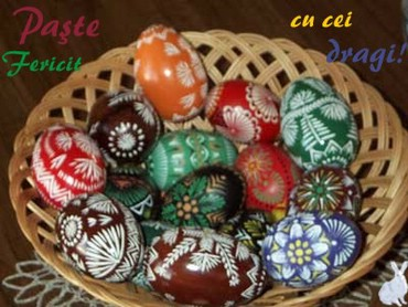 I wish you a very happy and holy Easter!