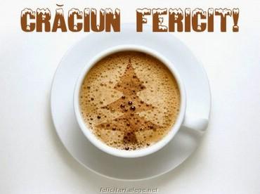 Coffee on Christmas day