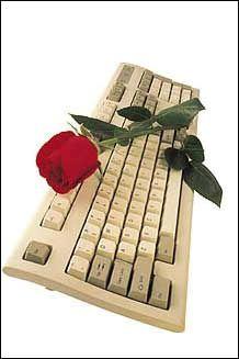 Trandafir Pe Tastatura