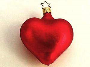 Glob In Forma De Inima