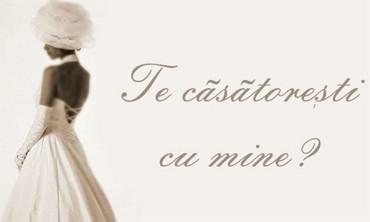 Te Casatoresti Cu Mine?
