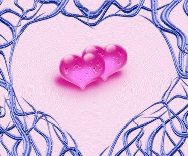 Love 2hearts Make