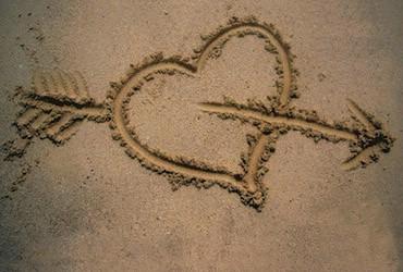 Inima Pe Plaja