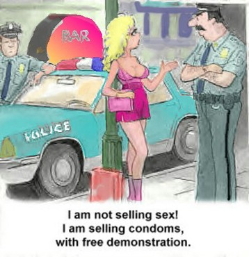 I Am Not Selling Sex !