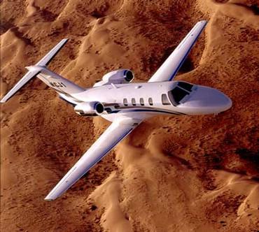 Avion Peste Desert