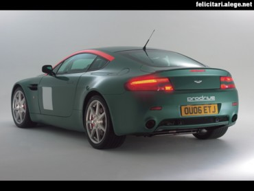 Aston Martin rear left