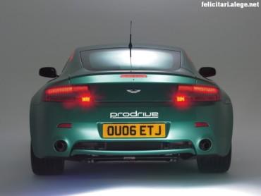 Aston Martin rear
