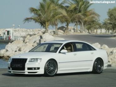 Audi A8 left side