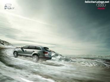 Audi Q7 climbing
