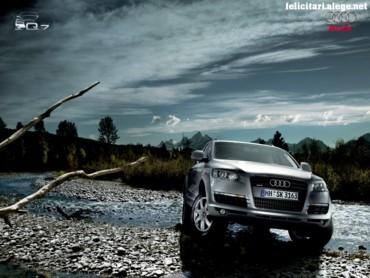 Audi Q7 in nature
