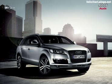 Audi Q7 in town