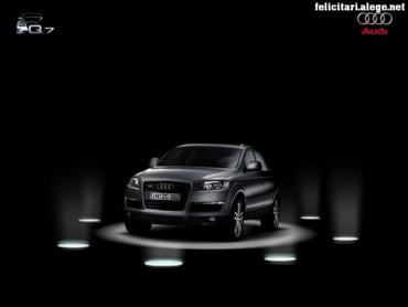 Audi Q7 on stage