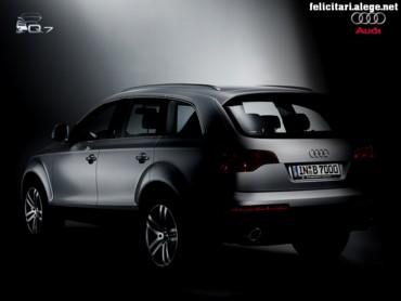 Audi Q7 shadowed