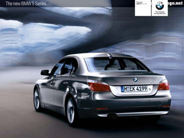 Back of BMW 530i