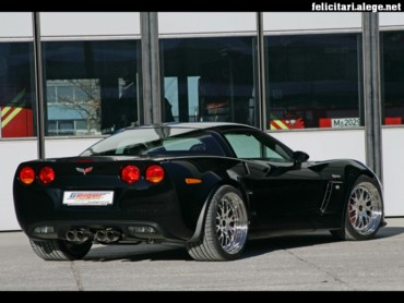 Black Corvette back