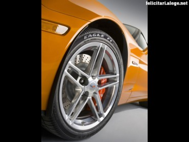Corvette wheel