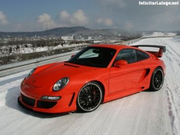Evo Orange Porsche