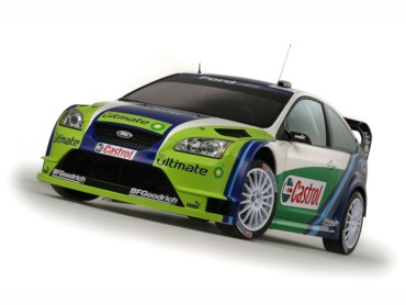 Ford Focus RS rally 2