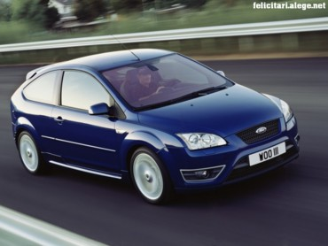 Ford Focus ST blue 2