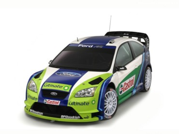 Ford Focus ST rally 3
