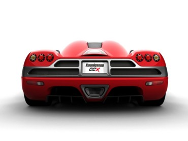 Koenigsegg CCX red