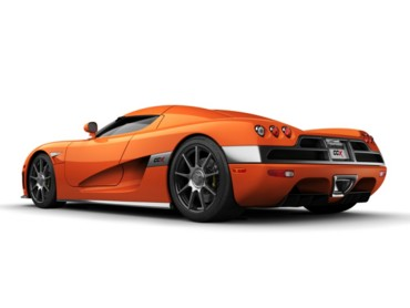 Koenigsegg orange