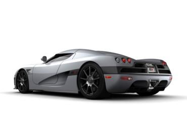 Koenigsegg silver