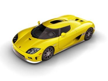 Koenigsegg Yellow