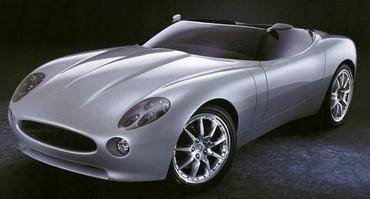 Jaguar F-Type Concept Fata
