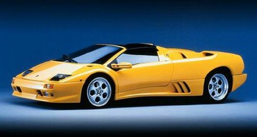 Lamborghini Galben