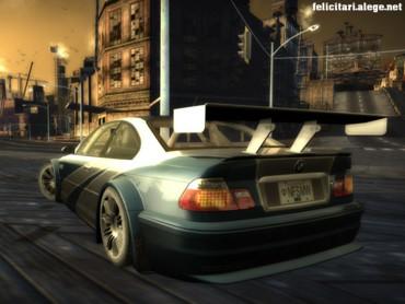 NFS grey BMW back