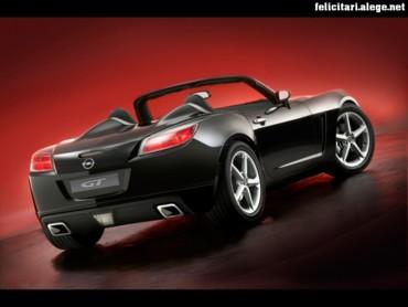 Opel GT rear right