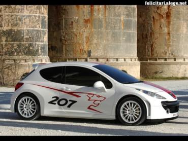 Peugeot 207 side