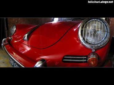Porsche front side