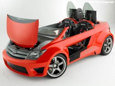 Red Scion xA front
