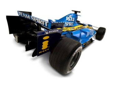 Renault F1 R26 rear
