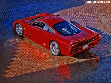 Saleen S7 red