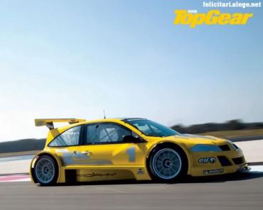 Top Gear yellow car