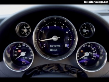 Veyron gauges