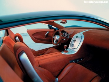 Veyron interior dash