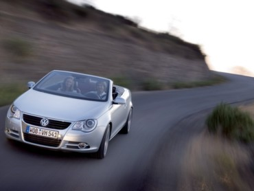 VW Eos front speed
