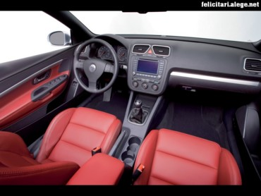 VW Eos interior