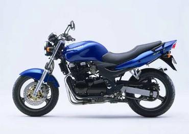 Kawasaki Motocicleta Albastra