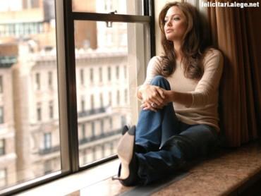 Angelia Jolie window