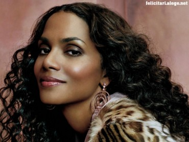 Halle Berry smile face