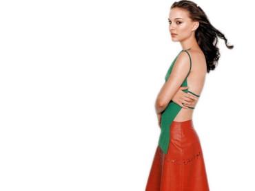 Natalie Portman red