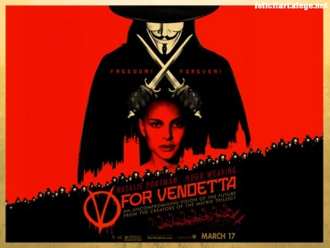 Vendetta red & black