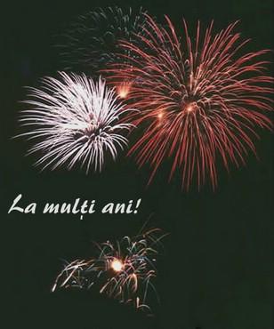 La Multi Ani - Foc Artificii